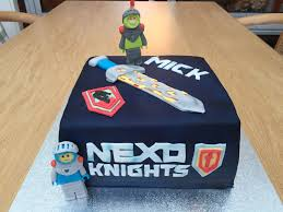 lego nexo knights cake book of monsters cake use image of book