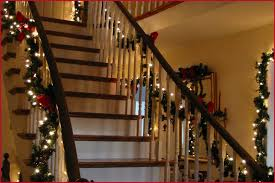 Garland With Lights Outdoor Garland With Lights Warm Staircase Make