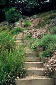 Landscaping Ideas Hillside Backyard Side Yard Landscaping Ideas Steep Hillside Stairs Make Steep
