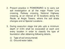 Type Of Foundation Ppt Execution Of Soil Investigation And Foundation Powerpoint