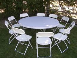 5 foot round table wedding chair rental table rentals caldwell id