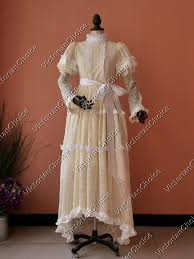 Titanic Halloween Costumes Victorian Titanic Romantic Vintage Wedding Dress Ghost Bride