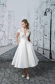 discount wedding dresses uk tea length wedding dresses the prettiest designs for vintage