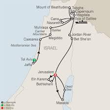 Jordan River Map Holy Land Tours U2013 Globus Faith Travel Packages