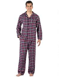 s premium 100 cotton flannel pajama sleepwear set relaxed