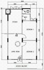 hdb floor plans floor plans for 264 waterloo street s 180264 hdb details srx