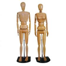 wooden artist mannequin size wooden manikins by cheap joe s cheap joe s stuff
