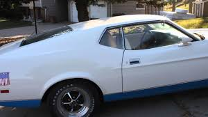 1972 mustang sprint youtube