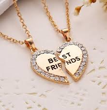 necklace pendants heart images Broken heart best friend necklaces pendants sweet little corner jpg