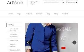 artwork responsive bootstrap ecommerce template themifycloud