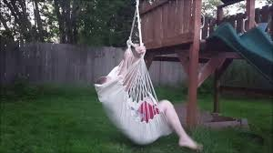 suesport hanging hammock chair porch swing seat youtube