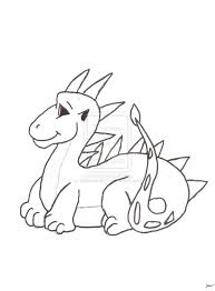 inspiring baby dragon coloring pages free down 6949 unknown