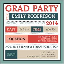 grad party invitations create the graduation party invitation mixbook