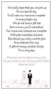 wedding gift list 8 best wedding images on wedding gift poem wedding
