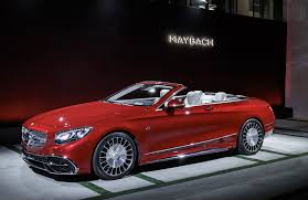convertible mercedes red mercedes maybach s650 cabriolet debuts at 2016 la auto show