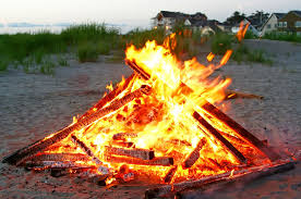 How To Lite A Fire Pit - beach bonfires outerbanks com