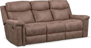 Montana Sofa Bed Montana Dual Manual Reclining Sofa Taupe American Signature