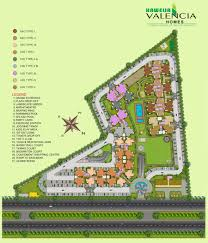 site plan valencia homes site plan