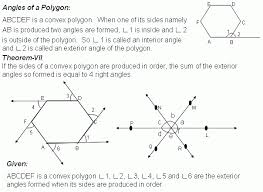 Finding Interior Angles Of A Polygon Worksheet Bbc Gcse Bitesize Angle Properties Of Polygons Exterior Angles Of