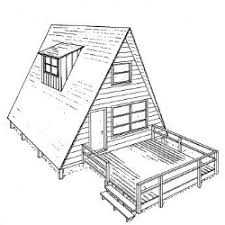 a frame house floor plans a frame house plans a frame floor plans