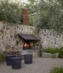 outdoor stone fireplace outdoor stone fireplaces atticmag