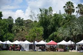 Botanic Gardens Brisbane City Riverside At The Gardens Market Brisbane Cbd Must Do Brisbane