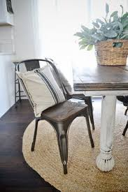 Cover Dining Room Chairs Rustic Metal Wood Dining Chairs With A Farmhouse Table Home