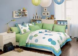 bedroom best decorating with blue and green small home