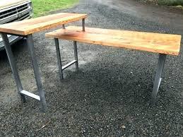 Diy Reclaimed Wood Desk Sofa Table Diy Reclaimed Wooden Desk Like This Item Reclaimed Wood