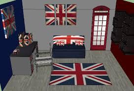 chambre anglaise deco anglaise chambre ado mineral bio