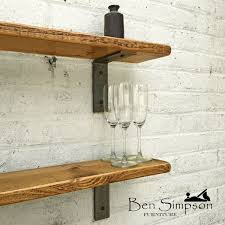 Bookcase Shelf Support Best 25 Industrial Brackets Ideas On Pinterest Industrial