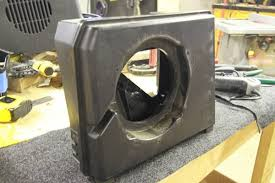 jeep wrangler speaker box how to building a fiberglass sound bar for 6 5 subs speakers