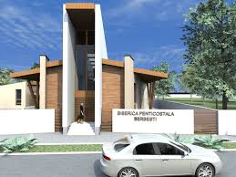 berbesti romania pentecostal church interior and exterior design