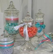 Candy Buffet Jars Cheap by 603 Best Quincenera Images On Pinterest Centerpiece Ideas