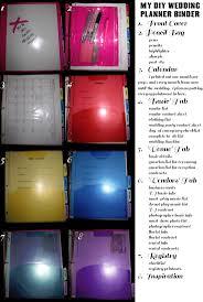 cheap wedding planner best 25 diy wedding planner binder ideas on