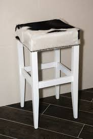 Faux Cowhide Chair Bar Stools Cowhide Kitchen Bar Stools Cowhide Saddle Bar Stools