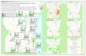 Racine Wisconsin Map by Immigrant Languages Of Wisconsin