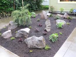 rocks for the garden landscaping with rocks and boulders gardening design