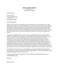 cover letters for internships cover letter exle 2 writing a for internship wilson easton