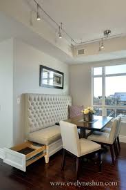 Dining Room With Banquette Seating by Table Dining With Sofa Bench Talkfremont