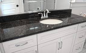 Black Granite Countertops With White Cabinets Inspiring Ideas For - Black granite with white cabinets in bathroom