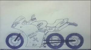 motorcycle drawings how i draw a three wheeler bikes ver 1 youtube