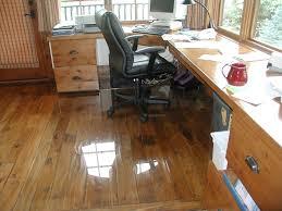 Bamboo Floor Protector Office Chair Mat For Wood Floors Wood Flooring