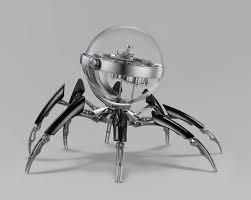 horloge de bureau octopod une horloge de bureau à 36 200 en forme d araignée