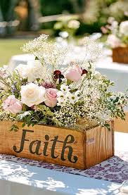 vintage wedding centerpieces vintage wedding centerpieces flower on the faith box rimmablog