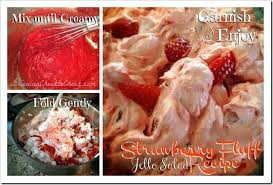 easy dessert recipe strawberry fluff jello salad recipes strawberry