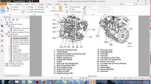 komatsu engine 3d88e 6 shop manual dhtauto com youtube