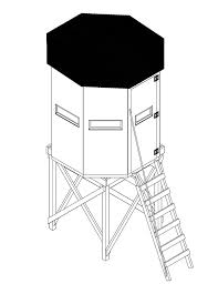 Hunting Chair Plans 9 Free Deer Stand Plans In A Variety Of Sizes