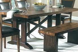build a bench for dining table rustic picnic style kitchen table bench tables for dining tinyrx co