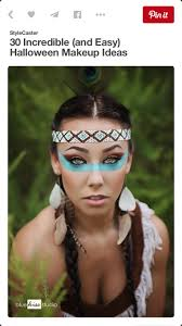 Girls Halloween Makeup Beautiful Indian Halloween Costume Makeup Idea Costumes